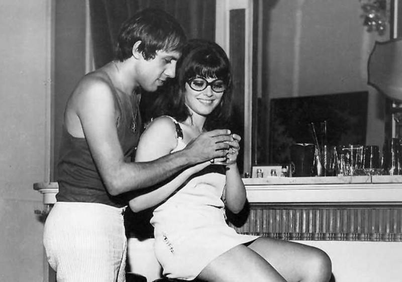 Adriano Celentano and Claudia Mori 1