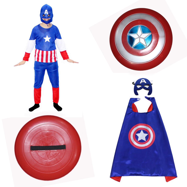 Captain America Fancy Dress For Boys