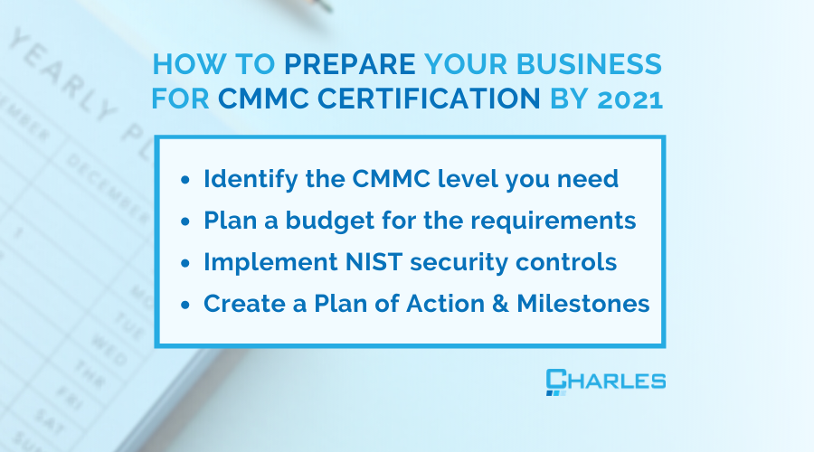 How Your Business Can Prepare for DoD CMMC Certification by 2021