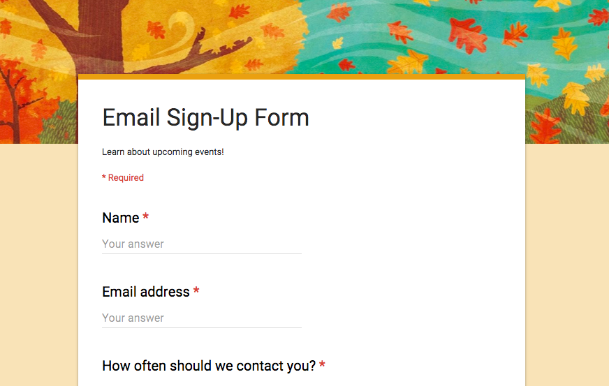 Revamped Google Forms image