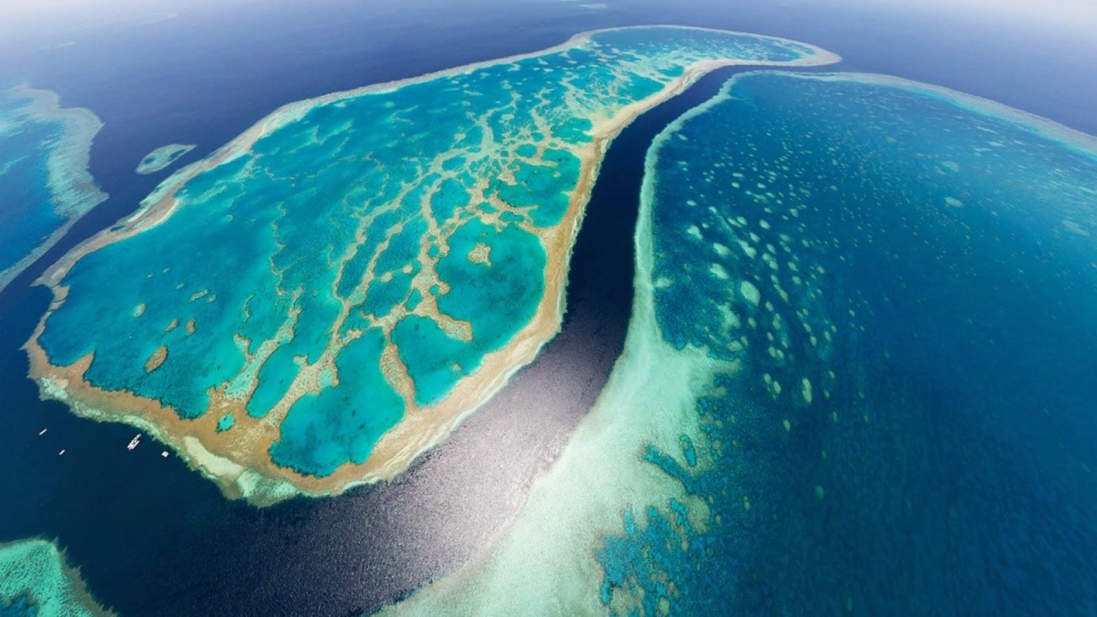 Яхтинг вдоль Большого Барьерного Рифа в Австралии
