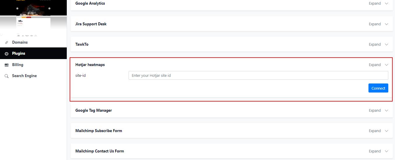olitt google analytics integration settings