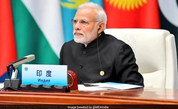 Image result for PM Modi reaches India after attending SCO meet