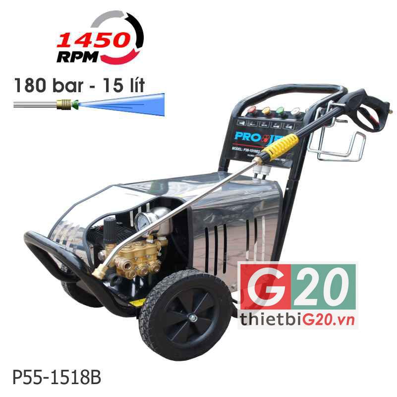 Chia sẻ lựa chọn máy phun rửa Projet P55-1518B chất lượng