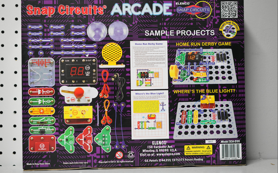 4aec16659 Eduporium Experiment | Snap Circuits Arcade Kit