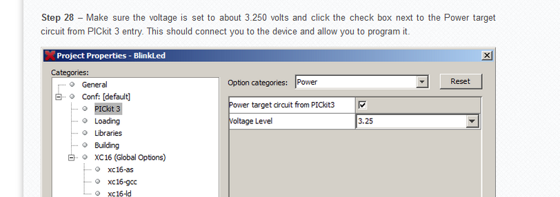 Microchip PICkit™ 3 In-Circuit Debugger Program