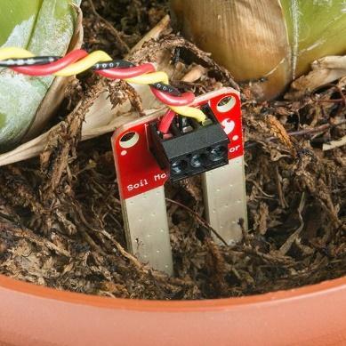 Soil Moisture Sensor with Screw Terminals