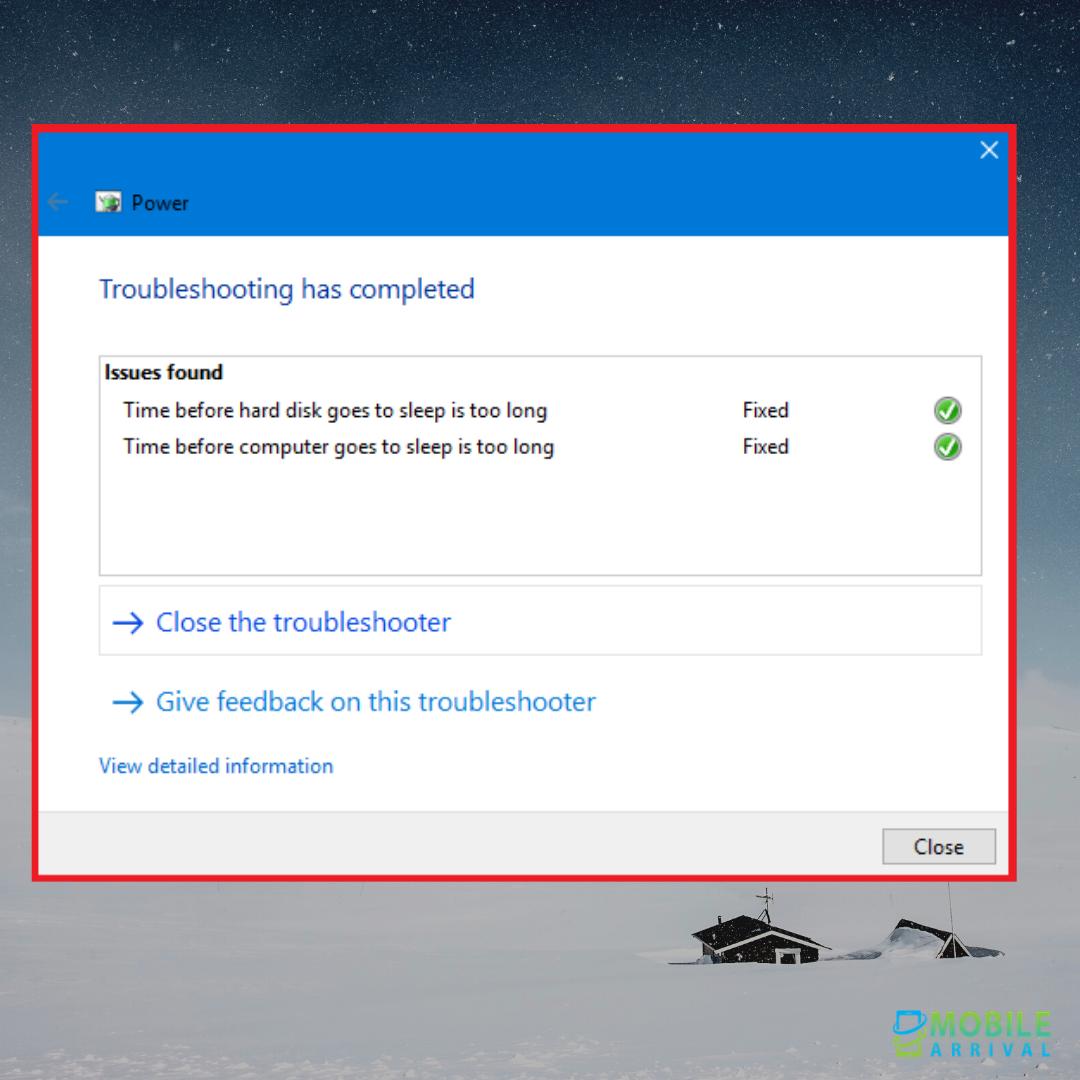 Windows 10 Display Won't Turn Off: Step 7