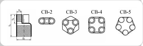 Термоусаживаемые перчатки Woer TCT CB схема