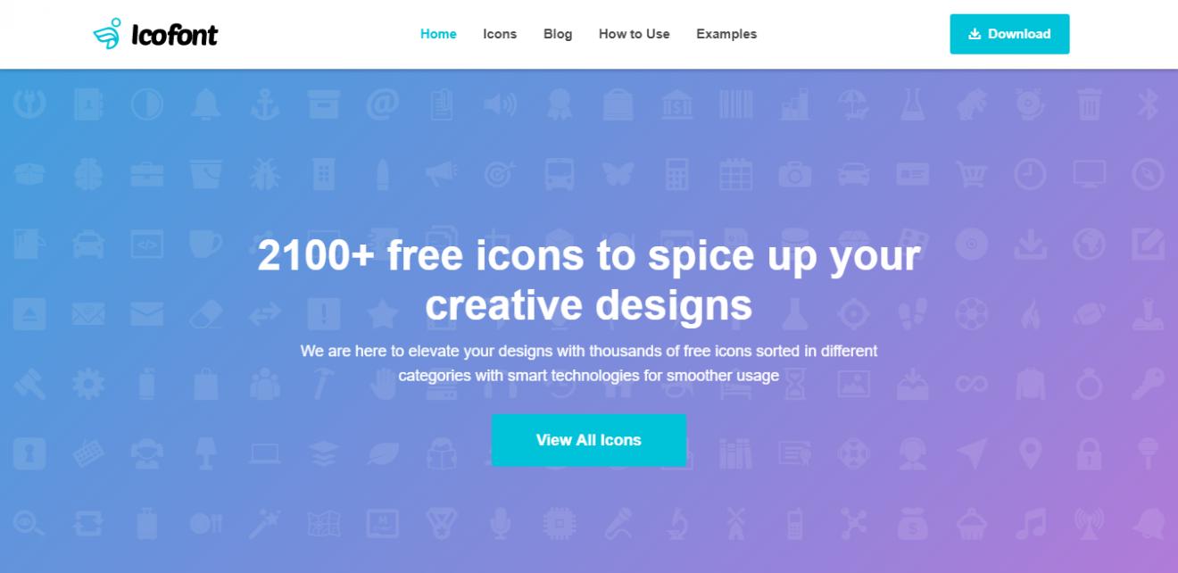 Icofont é uma fontes de ícones para wordpress gratuita