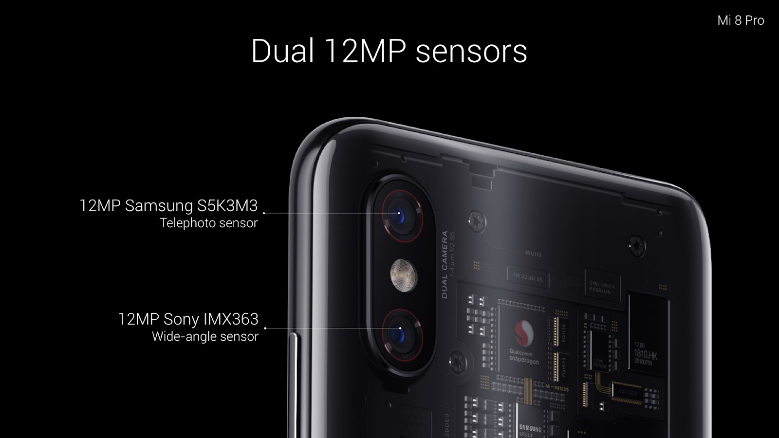 This Sensor Features Massive 14um Pixels Which Can Enhance Photo Brightness And Quality In Low Light Conditions Using Mi 8 Pro Will Make It Easier To