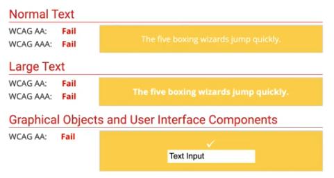 contrast-test-fail