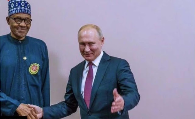 NIGERIA SIGNS MILITARY DEAL WITH RUSSIA
