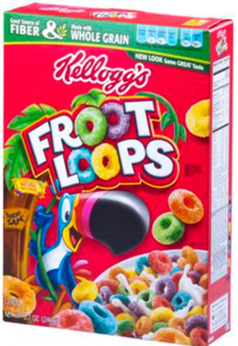 A box of cereal  Description automatically generated with low confidence