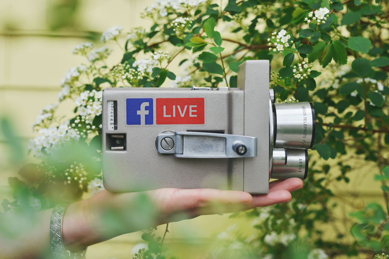 Live videos allow real-time connection with your audience.
