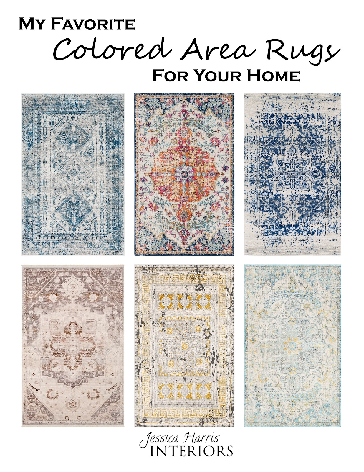 Jessica Harris of Jessica Harris Interiors shares her go-to guide to help ease the burden and provide you with tips to help you find the perfect area rug for you home.