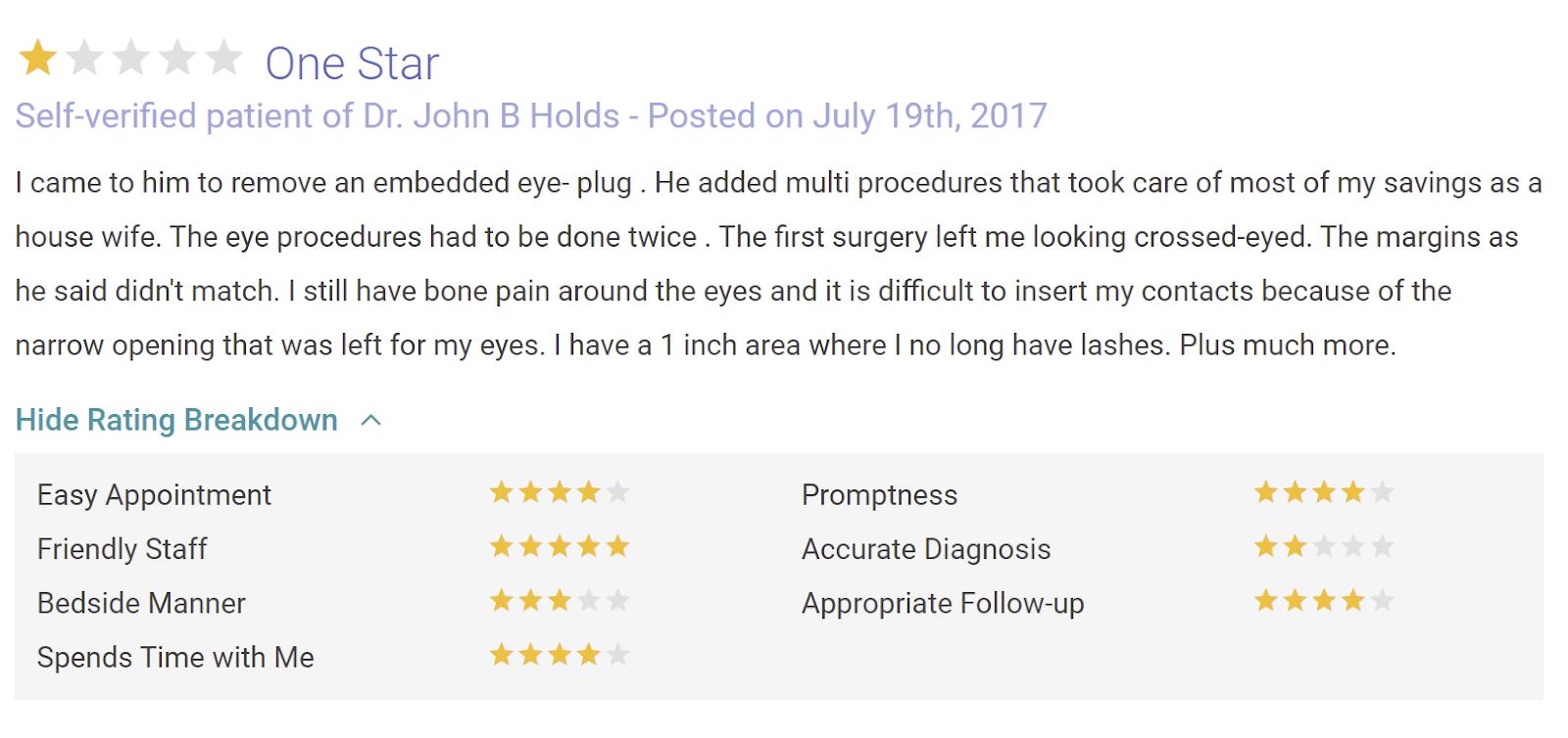 Oculofacial Plastic Surgery St. Louis review