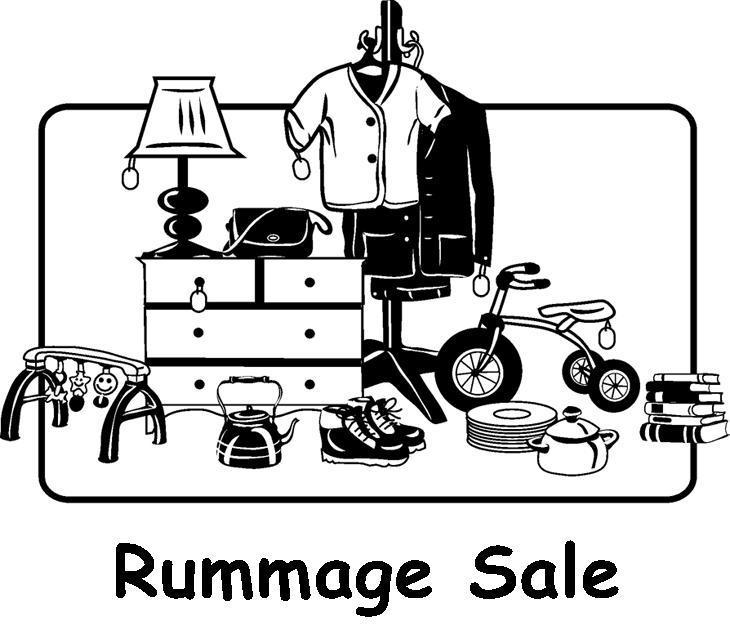 Image result for church rummage sale clip art