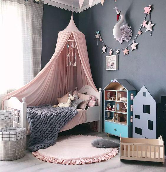 Cloud-Like Comfort Bed Blanket for Little Girl Bedroom Ideas