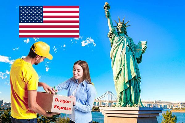 Dragon Express nhận chuyển hàng đi Mỹ và hơn 200 quốc gia khác
