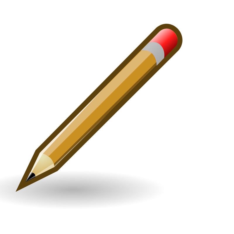 Illustration of a pencil
