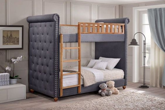 Upholstered Bed Ends Covered
