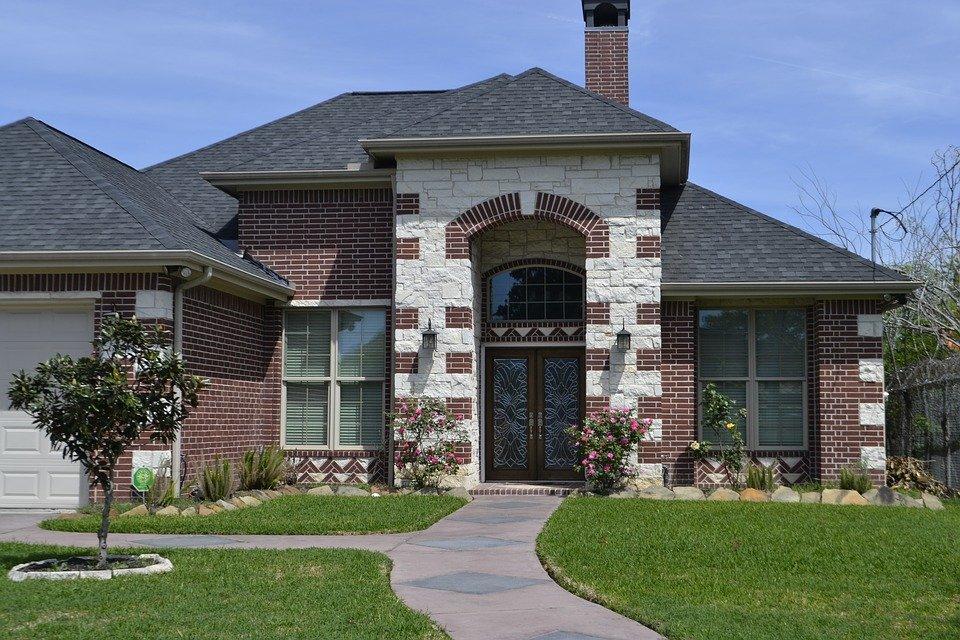 Gardening, Garden, House, Lawn, Architecture, Home