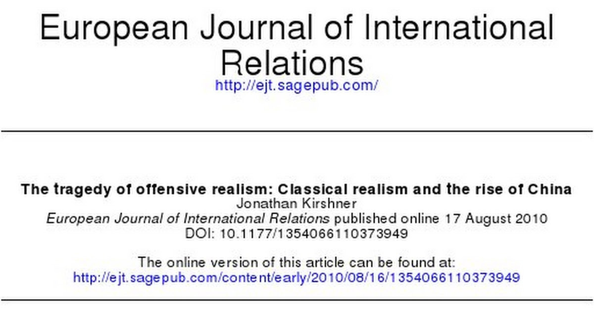 structural realism vs classical realism Neo-realism ( structural realism ) and neoliberalism in realist understanding, there is a contrast in relations between congregation and state the basic actor is state in international system, but they are not against international institution and co-operation.