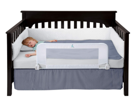 Best Toddler Bed Rails For Convertible Cribs-Hiccapop Convertible Crib Toddler Bed Rail Guard