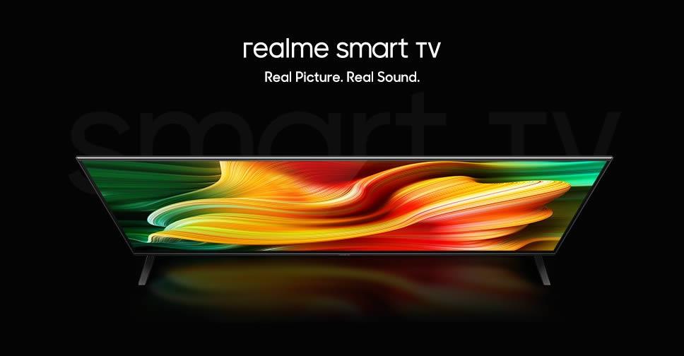 realme smart TV 32 นิ้ว ดีไซน์