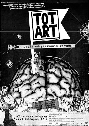 Polski plakat filmu 'Totart, Czyli Odzyskiwanie Rozumu'