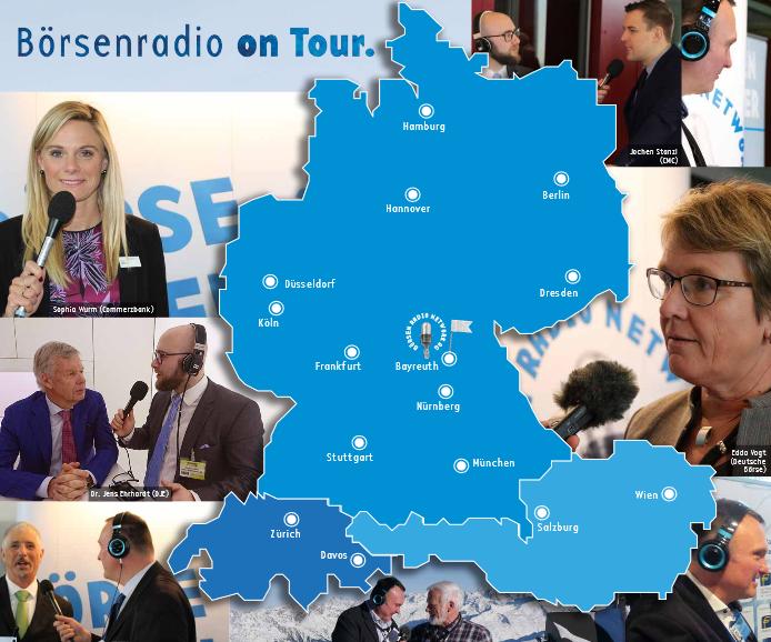 Börsen Radio on tour