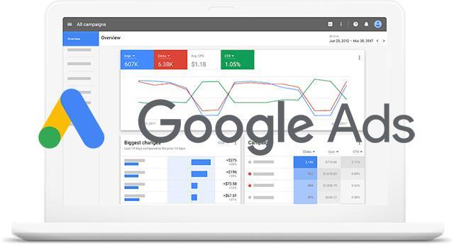 Google Ads Page