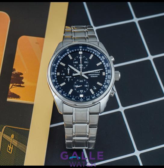 Những thú vị khi mua đồng hồ seiko nam Chronograph SSB377P1