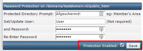 folder password protection