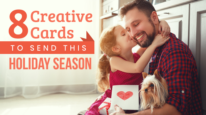 8 Creative Cards to Send This Holiday Season