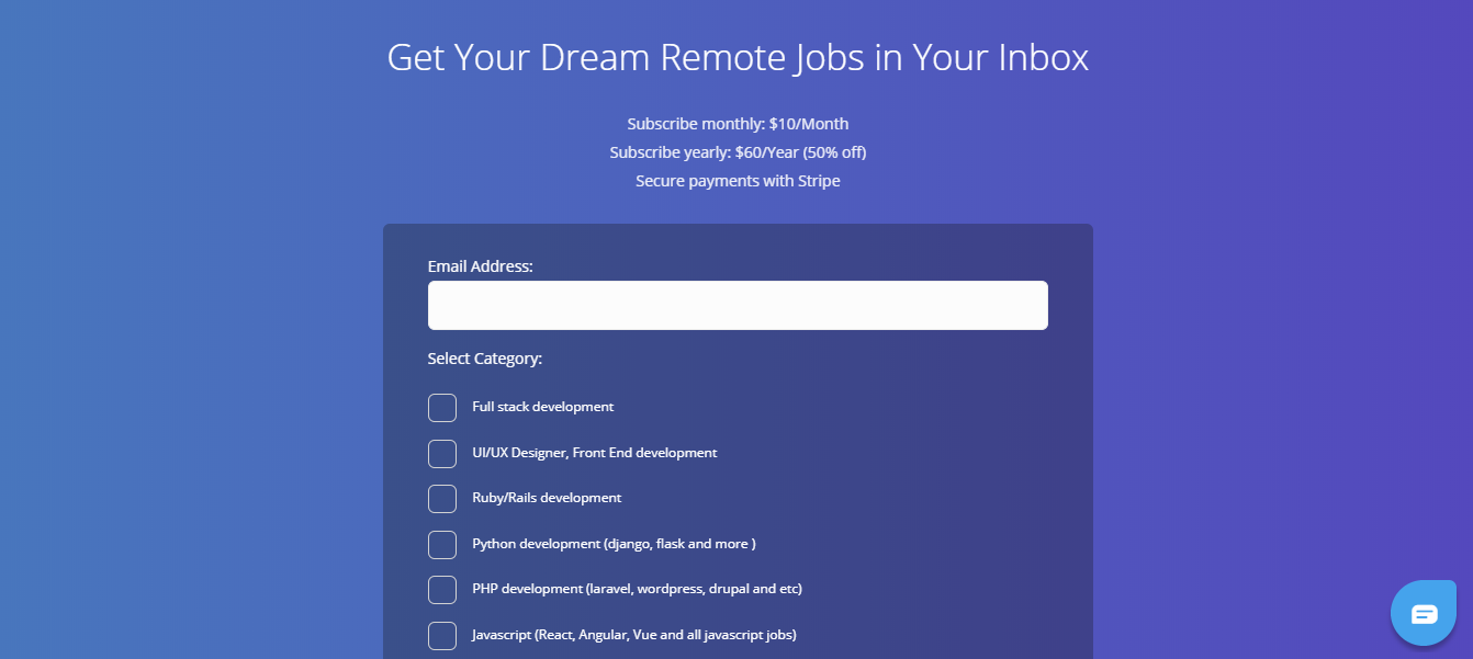 Remote Leaf - Remote Jobs Website