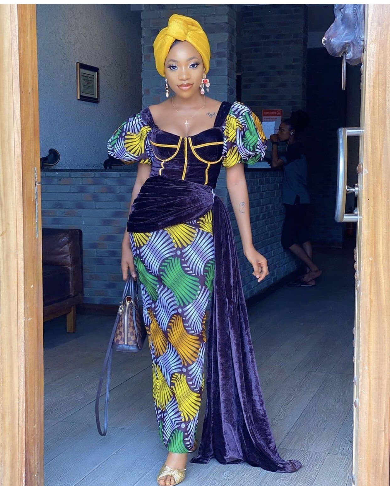 wedding guest Ankara styles