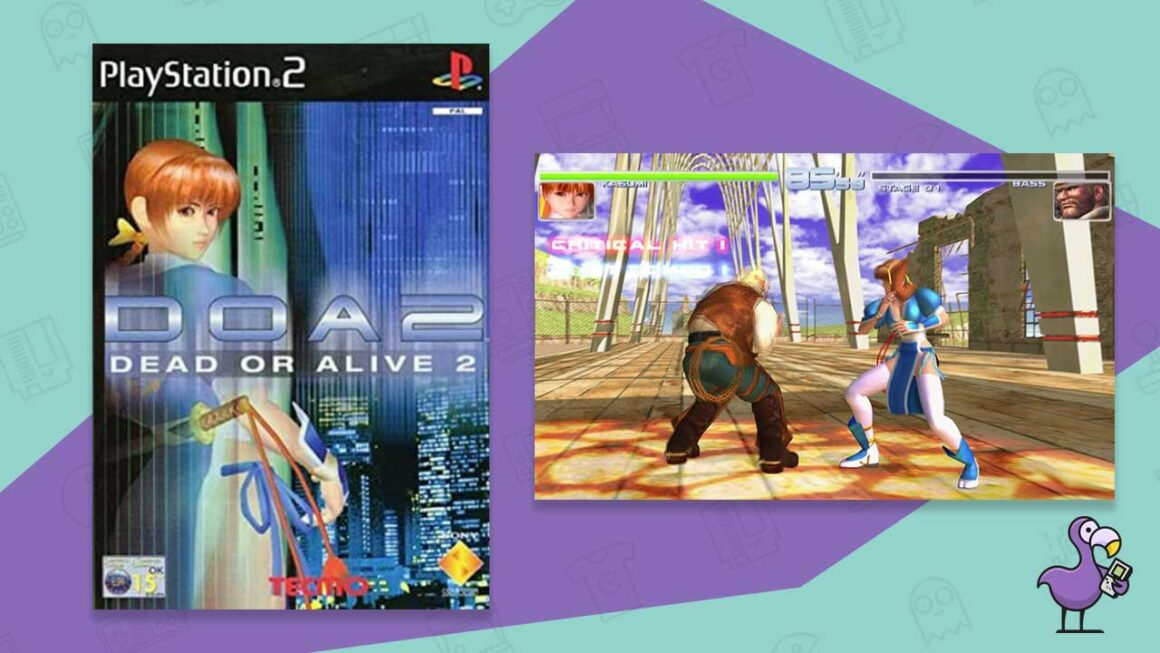 dead or alive 2 best ps2 fighting games