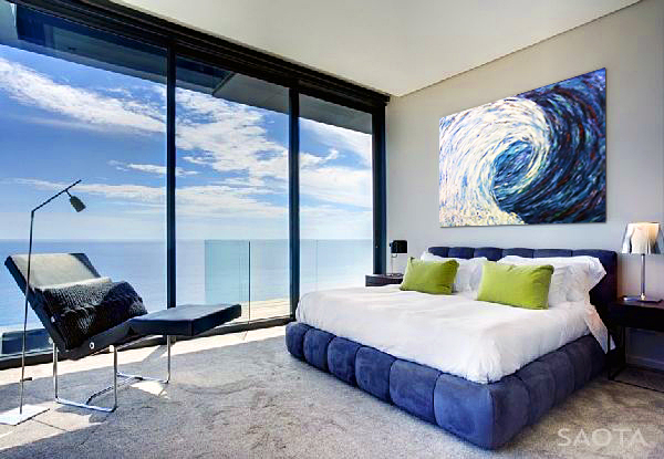 Bedroom with a View of the Beach