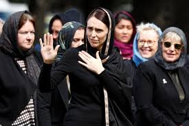 Image result for ardern headscarf