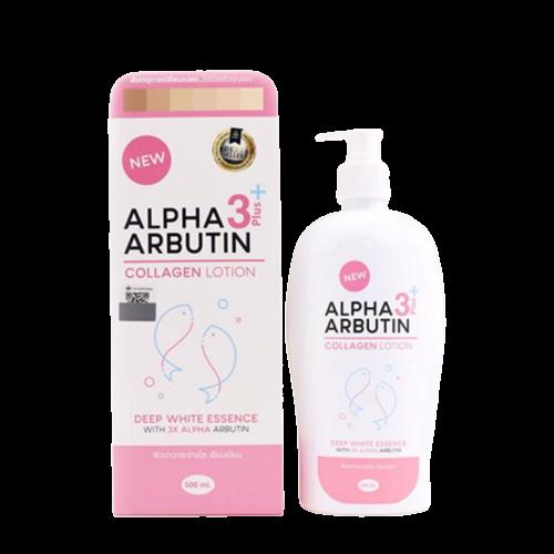 lpha Arbutin 3 Plus Collagen Whitening Lotion