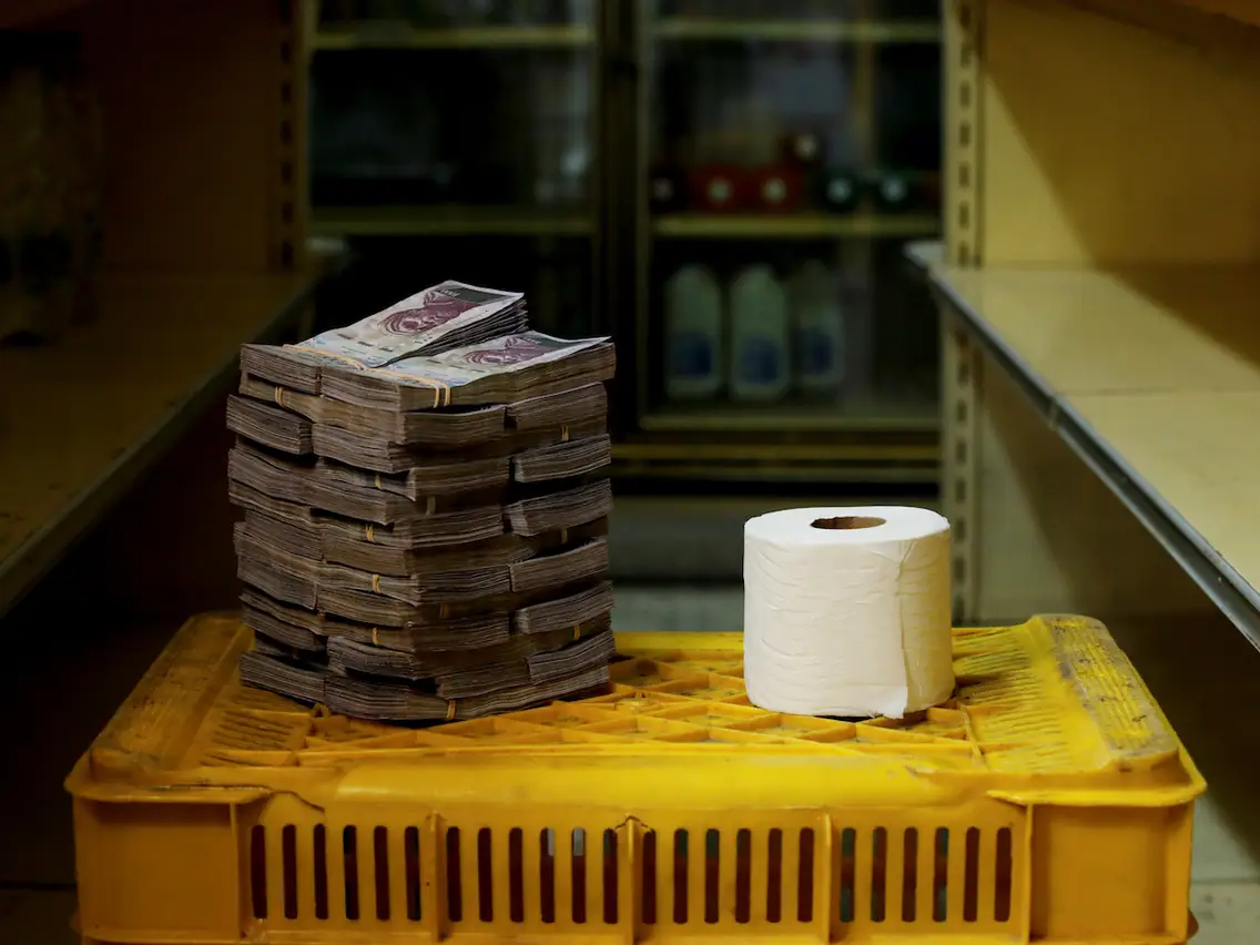l'inflation au Venezuela