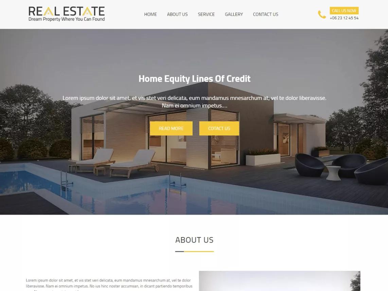 Real Estater Theme