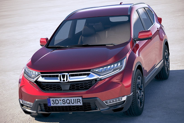 angular-front-of-Honda-CR-V
