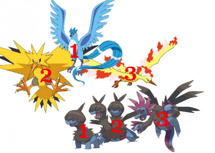 Tên của Pokemon có chứa số