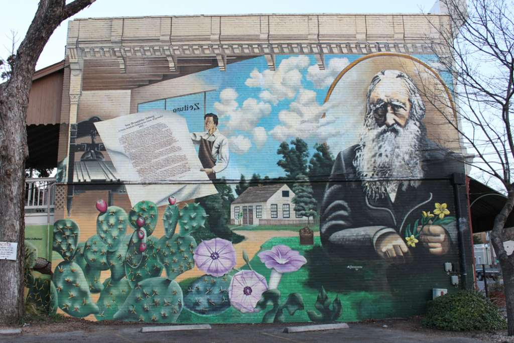 A Colorful History A Tour Of Nb S Murals Keller