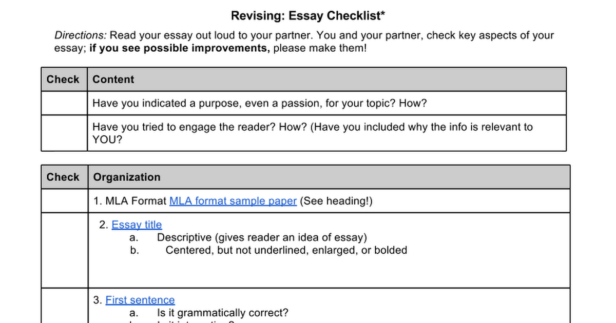 revision essays How to structure essays - chapter summary in this engaging chapter, you'll find brief lessons on essay structure revising an essay using source materials.