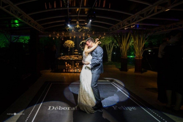 Pista de dança - casamento em Porto Alegre