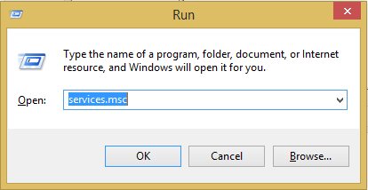 Fix Bluetooth Issues on Windows 10 via run dialog box.